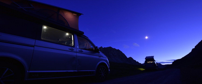 Camping im Wohnmobil